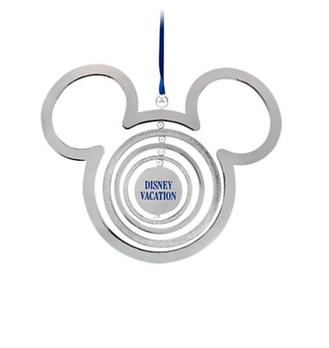 Disney Store Authentic Mickey Mouse Icon Vacation Christmas Ornament NEW