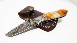 Falcon-Blade-Slash-5-Damascus-Camping-Tracker-Pocket-Folder-Knife-8-Inch