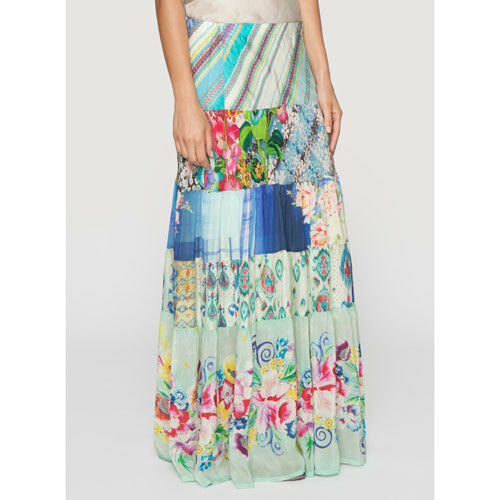 di Floral Tiered Was Skunk 278 sconto Nwt 50 Johnny Retail T8Eq1I