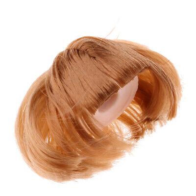 Mignon perruque postiche cheveux bouclés pour 1//3 blythe poupée bricolage