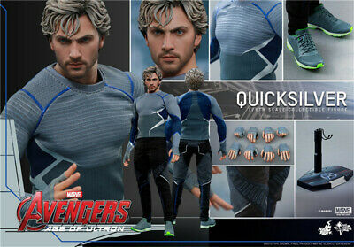 HT 1//6 Scale Quick Metal Action Figure X-men Quicksilver HOTTOYS New