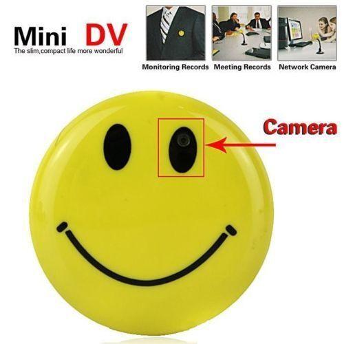 4GB Smiley con Escondido Mini Dash Cámara HD Spy Dash Mini Cam 720P Dashcam Coche - A4 3f2e4c