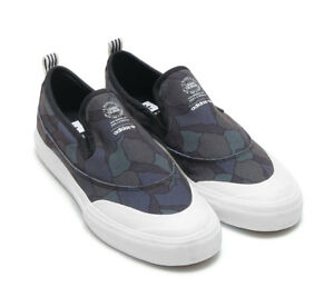 premium selection 3c582 c8a84 Image is loading NWOB-Adidas-Matchcourt-Slip-On-Skateboard-Shoe-Core-