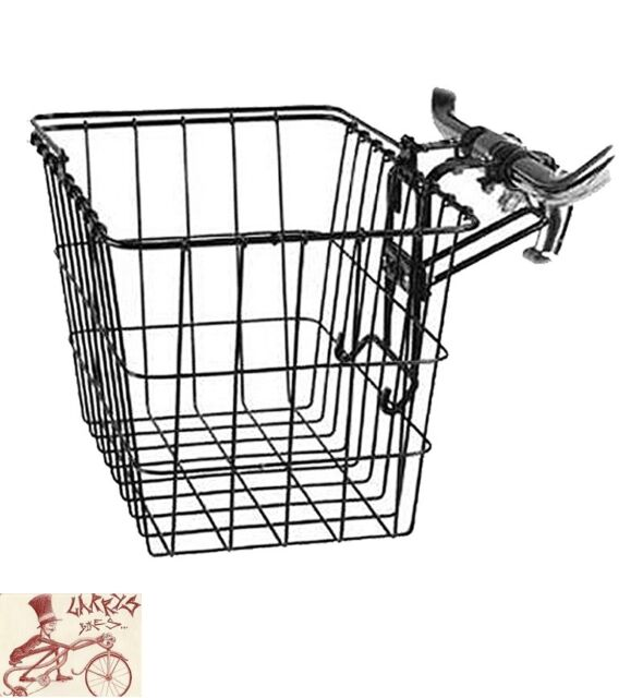 SUNLITE MESH QUICK RELEASE WHITE FRONT BICYCLE BASKET