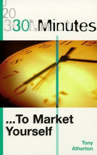 30 Minutes to Market Yourself, New Books