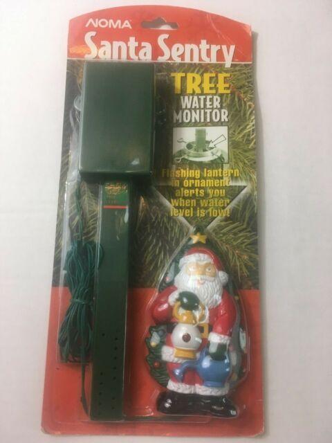 How Often To Water Christmas Tree.Christmas Tree Water Monitor Noma Santa Sentry Vintage Sealed W Santa Ornament