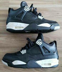 Details about 2015 Air Jordan 4 IV Retro LS OREO Black/Tech Grey-Black Mens Size 8 314254 003