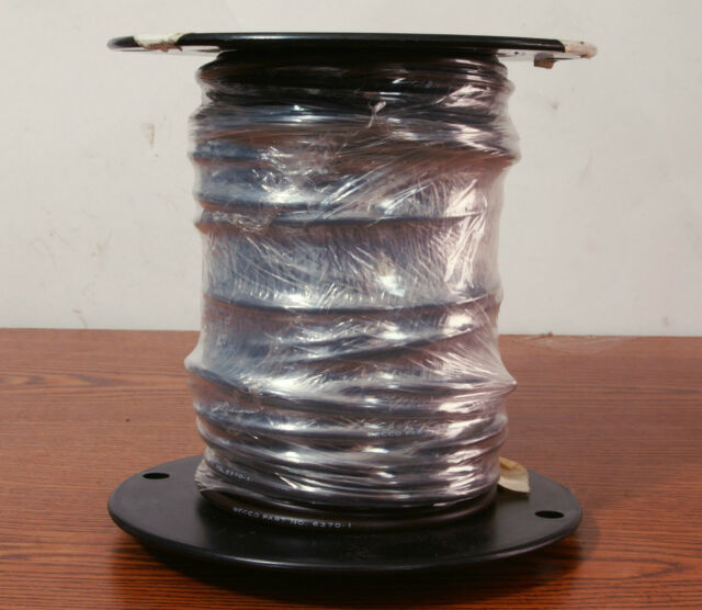 US GI WIRE CABLE BECCO PART 6370-1 MIL SP W-6370C 119' SPOOL FITS CRUSHER