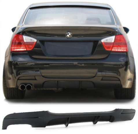 BMW E90 E91 Rear Diffuser M Package 20042012 Pattern M PERFORMANCE NEW TUNING!