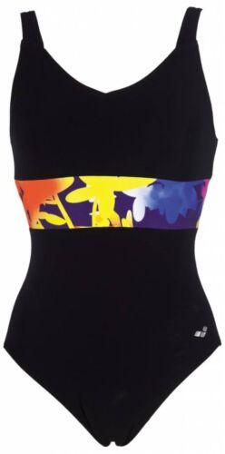 Arena Damen Badeanzug Doris Wing Back One Piece Schwimmanzug schwarz 2A69558