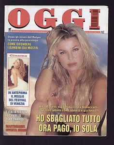 OGGI 36/1996 ALBA PARIETTI LAMBERT ANNA VALLE MOGOL NINO D'ANGELO  MASTROIANNI | eBay
