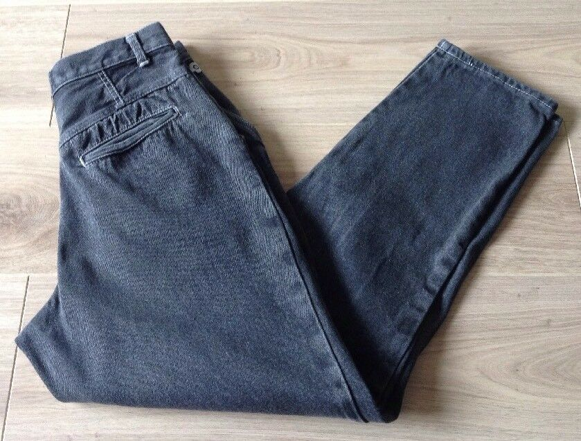MARY QUANT JEANS VINTAGE Größe 27 X 28 HIGH WAISTED TAPErot LEG
