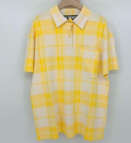 Men women Jacquemus knitted short sleeves T-shirt casual