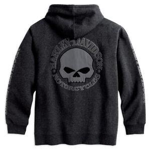 Skull davidson Hoodie Shirt Mens 99107 002l Harley 18vm Jumper Hoody gnwTdxq