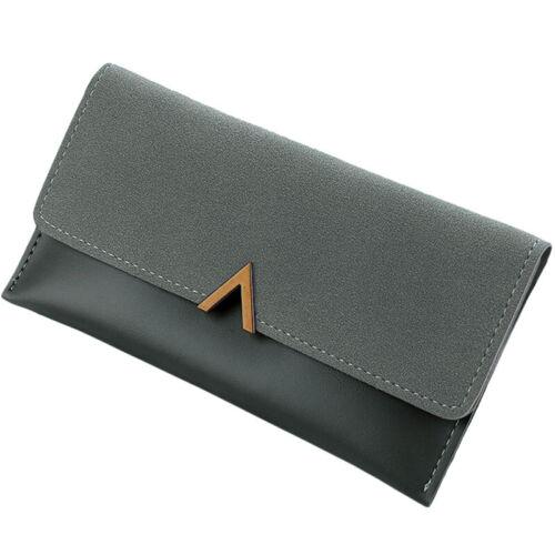 Women Long Leather Wallet Purse Phone Coin Card Holder Handbag Party Clutch Bag