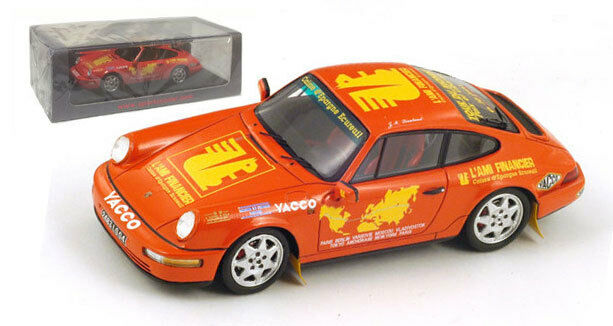 Spark s1373 PORSCHE 964 CARRERA 4 World Tour 1994-Jean-Marc Liautaud 1 43