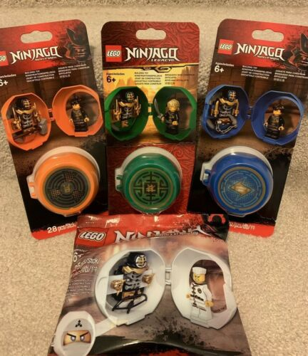 LEGO Ninjago Kendo Training Pod 853758 853759 5005023 853899 Jay Cole Zane Lloyd