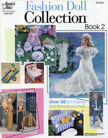 Fashion Doll Collection Book 2 30+ Projects Crochet Patterns Fit Barbie Dolls