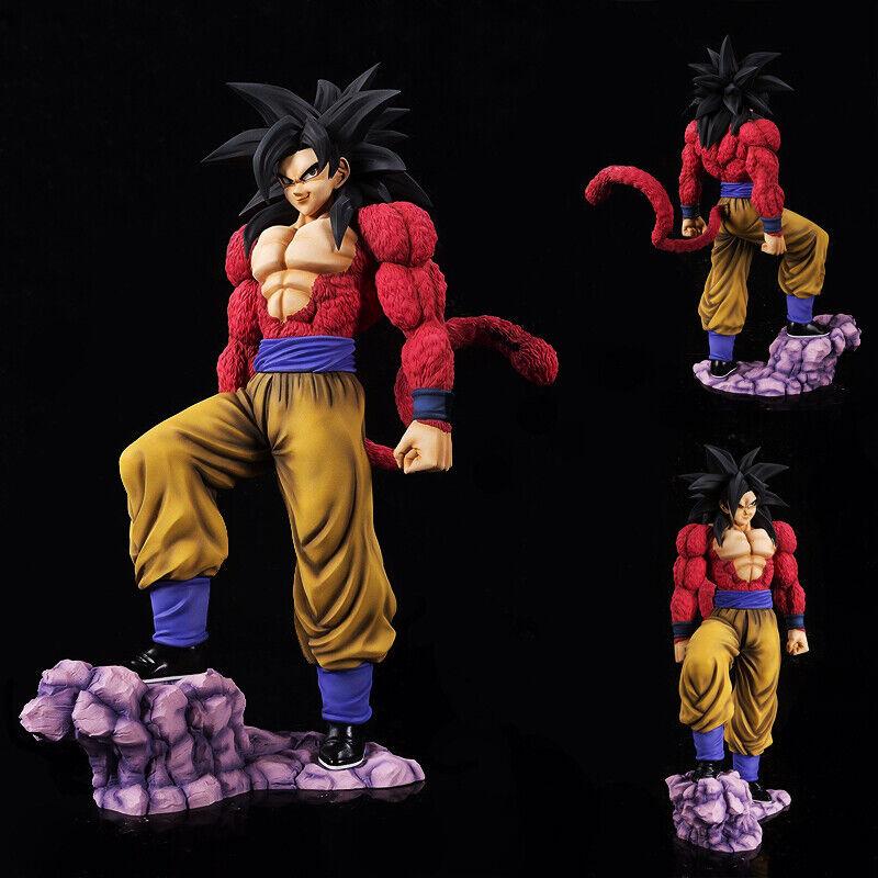 Dragon Ball GT Gokou Figure Figure Figure Super Saiyan 4 Son Goku PVC Statue Toy bf2f09