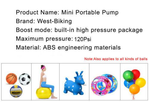 Bicycle Foot Pump Ultra-light Bike Cycling Pump Portable High Pressure Inflator
