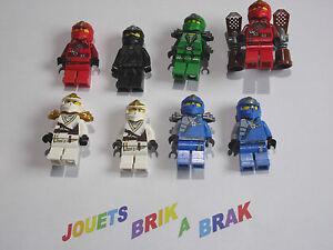 LEGO-Minifig-figura-personaje-Ninjago-Ninja-Go-ZX-choose-modelo-KG-37