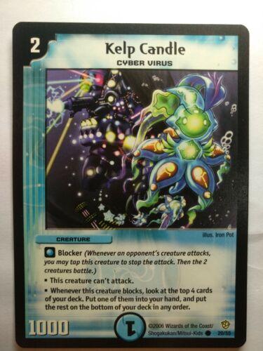 Duel Masters DM09 20//55 Kelp Candle Fatal Brood of Infinite Ruin WOTC