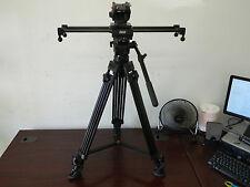 Cinevate 24in V2 Duzi Slider // E-Image AT-7402A Tripod w/EH60 Fluid Head