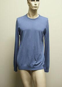 595-NEW-Authentic-GUCCI-Mens-Extrafine-Wool-Sweater-2XL-w-GRG-web-trim-232194