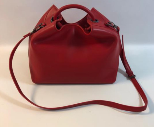 ELLEME RAISIN TOTE BAG in RED