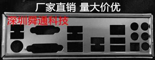 IO I//O Shield Back Plate BackPlate for GA Gigabyte GA-Z77-D3H  GA-Z87X-D3H