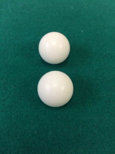 7//8 INCH  2 ROULETTE BALLS FOR CASINO STYLE ROULETTE WHEEL