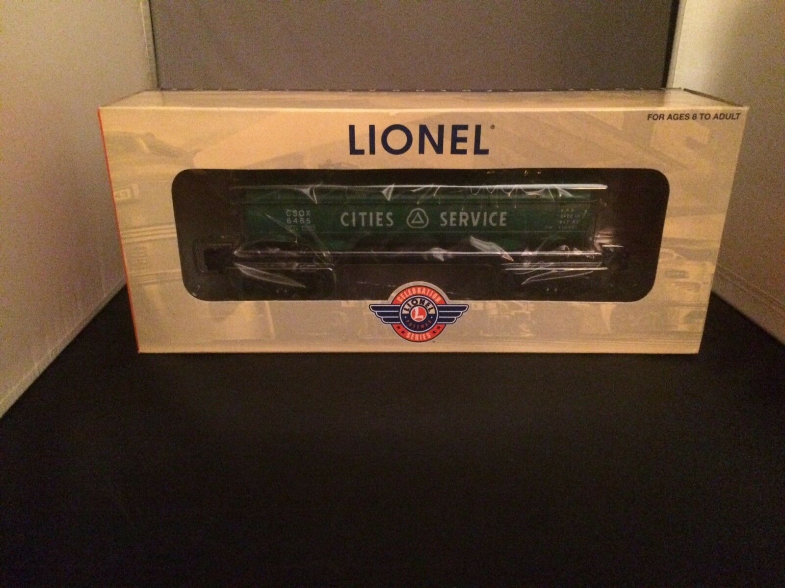 Lionel 29617 6465 Cities Services Tank Car New in Box  PWC Series