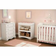 South Shore Peak A Boo Collection Changing Table, White