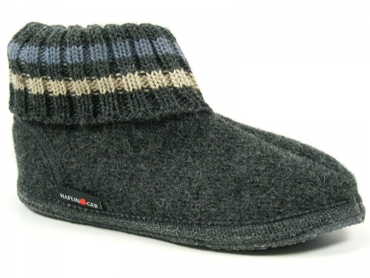 Haflinger Sautope Donna Pantofole Da Uomo Sautope capanne Lana Paul 631051-0-077
