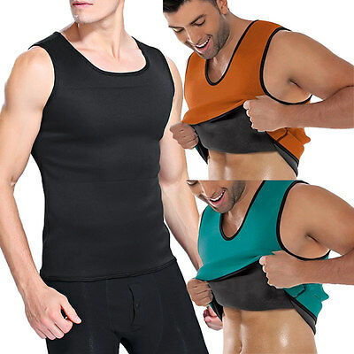 Men Vest Neoprene Belt Body Shaper Posture Waist Trainer Corsets Bodyshape