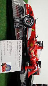 F1 Ferrari 2006 Champion d'Anatomie Schumacher 1/18 Hot Wheels L6234 Formule 1 Voit