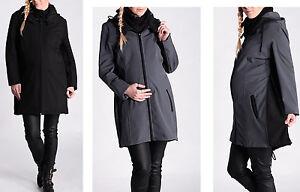 Rabattgutschein erster Blick Outlet-Boutique Details zu NEU warme 2in1 Jacke Softshell Umstandsjacke Umstandsmantel  Kapuze Wasserdicht