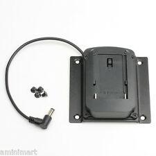 F970 NP-F970 Battery Plate Adapter fr Sony F550 F950 F970 Vesa Mount