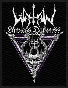 WATAIN-Patch-Aufnaeher-Lawless-darkness-7x10cm