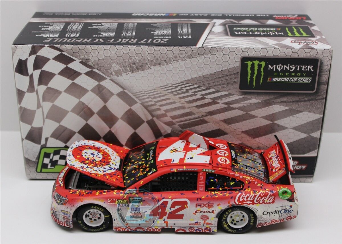KYLE LARSON TARGET RICHMOND RACED WIN 1 24 SCALE SCALE SCALE NEW FREE SHIPPING 30b443