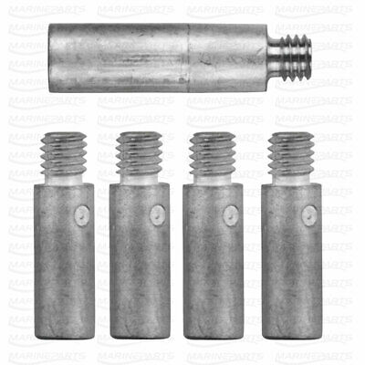 Engine anode kit for Yanmar 6LP 6LY 119574-44150 X4 119574-18790 X1