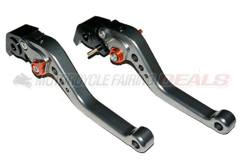 Adjustable Racing Shorty Brake Clutch Lever Titanium For Ducati 848 1098 1198