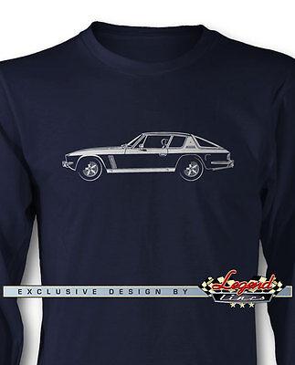 Jensen Interceptor FF T-Shirt for Men British Car Multiple Colors and Sizes