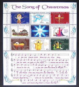 1978-Christmas-Island-Stamps-Christmas-Mini-Sheet-Set-9x10c-MNH