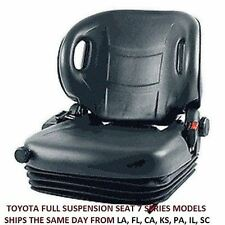 SEAT FULL SUSPENSION 53710-88300-71 TOYOTA  FORKLIFT  7FGCU45 WITH SAFETY SWITCH