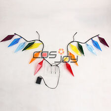 Cosjoy Touhou Project FLANDRE SCARLET Wings Cosplay Prop no Battery
