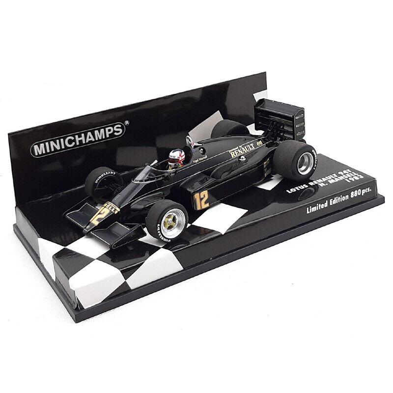 Sin impuestos 1983 Nigel Mansell - Lotus 94T - 1 1 1 43 Minichamps  Mercancía de alta calidad y servicio conveniente y honesto.
