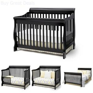 Delta Children Canton Convertible Crib 4 In 1 Toddler Bed Baby