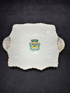 Vintage-Shelley-England-Fine-Bone-China-small-candy-plate-tray-saucer-homedecor
