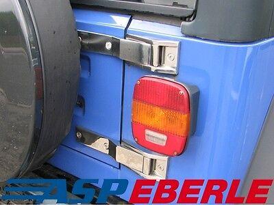 Hecktürscharnier Edelstahl extra stark Scharnier Jeep Wrangler TJ 96-06
